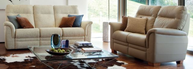 Parker Knoll - Hudson Chair and Sofa Collection Armchair A Fabric