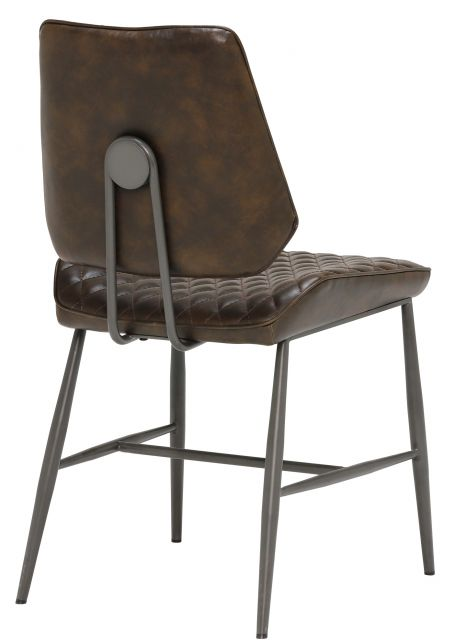 Remus Chair Collection Dining Chair (Dark Brown)