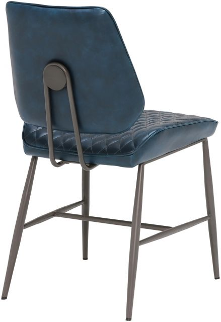 Remus Chair Collection Dining Chair (Dark Blue)