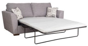 Mars Sofa Collection 3 Seater Sofa Bed with Deluxe Mattress  Classicback  - A GRADE