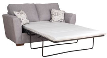Mars Sofa Collection 2 Seater Sofa Bed with Standard Mattress  Classicback  - A GRADE
