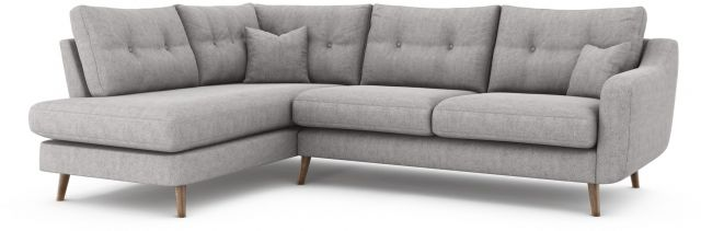 Lurano Sofa Collection Corner Group - Right Hand Facing Arm - Grade A Fabric