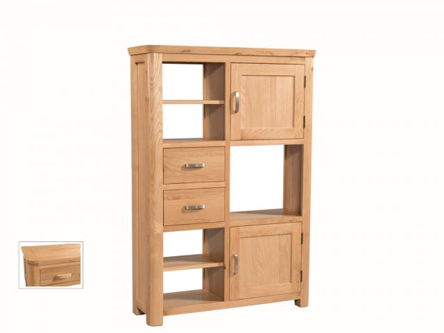 Suffolk Oak Dining Collection High Display Unit