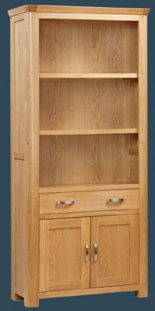 Suffolk Oak Dining Collection High Bookcase