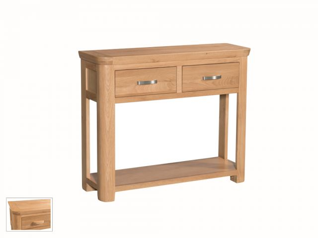 Suffolk Oak Dining Collection Large Console Table