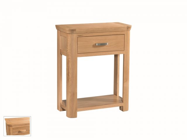 Suffolk Oak Dining Collection Small Console Table