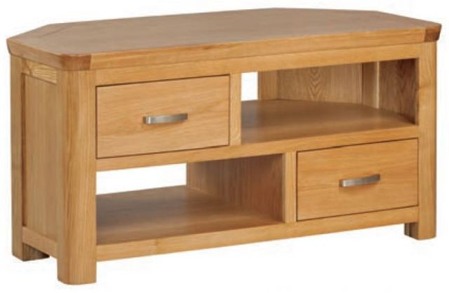 Suffolk Oak Dining Collection Corner TV Unit