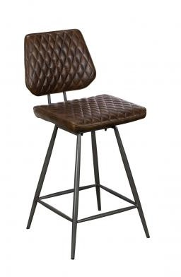 Remus Chair Collection Barstool - Counter Chair (Dark Brown))