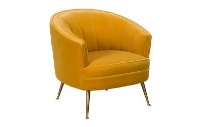 Kensho Collection Occasional Chair - Yellow