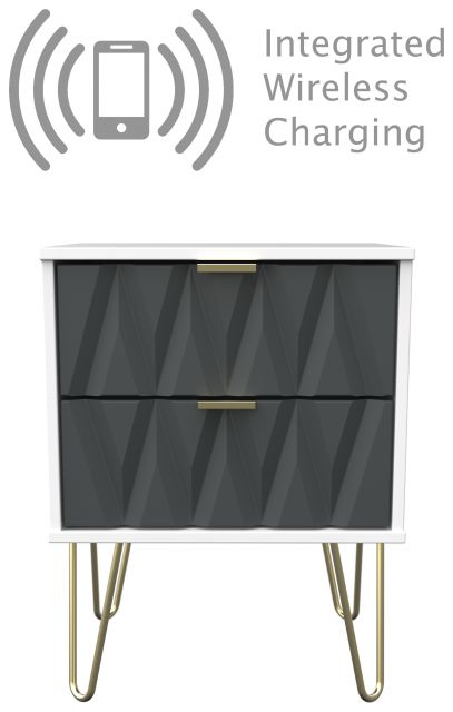 Qatar Bedroom Collection Wireless Charging Surcharge