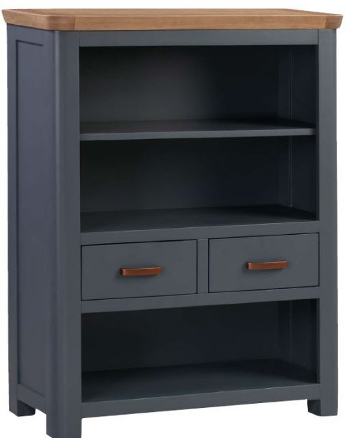 Sussex Midnight Low Bookcase