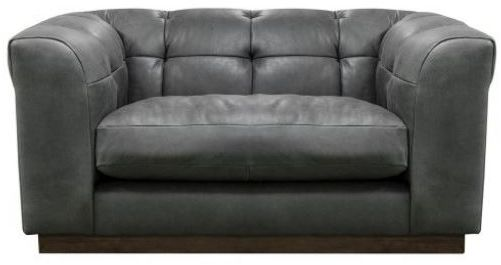 Alexander and James - Editor Sofa Collection Snuggler Chair Grade B Leather