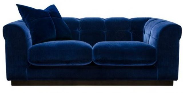 Alexander and James - Editor Sofa Collection 2 Seater Settee Grade B Leather