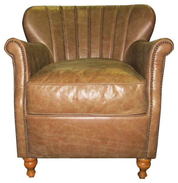 Alexander and James- Percy Collection Chair Soul Leather
