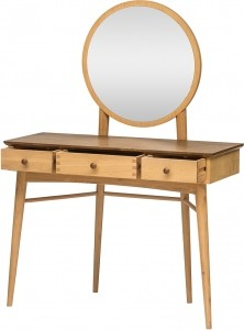 Helston Bedroom Collection Dressing Table & Mirror