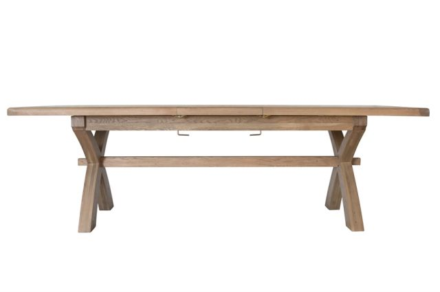 Charlbury Dining Collection 2.0m Cross Leg Dining Table