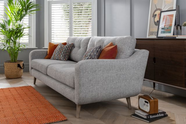 Lurano Sofa Collection 1 Arm 2str Section - Grade B Fabric