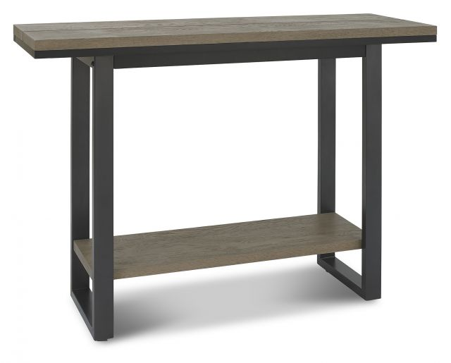 Volcano Dining Collection Console Tables Weathered Oak