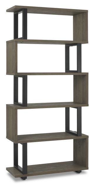 Volcano Dining Collection Display Cabinets Weathered Oak