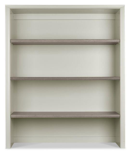 Revox Home Office Collection Wide Top Unit Grey Washed Oak & Soft Grey