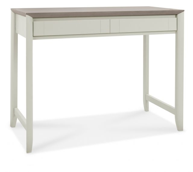 Revox Home Office Collection Desk Grey Washed Oak & Soft Grey
