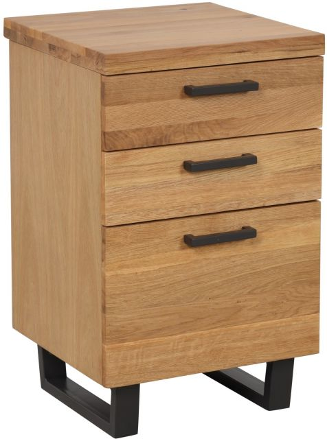 Studio Collection Filing Cabinet - Oak