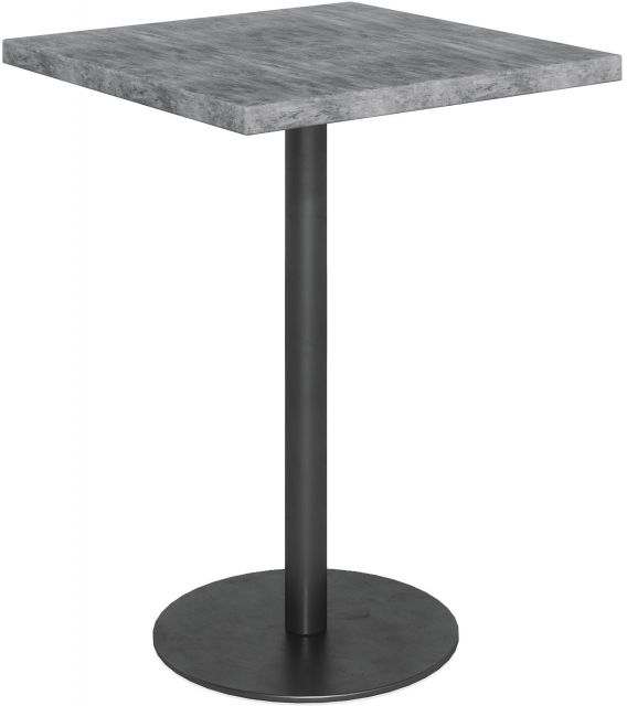Studio Collection Bar Table - STONE EFFECT